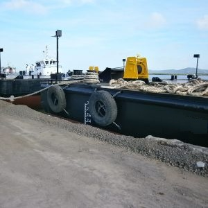 39 Meters Length  Flat Top Barge Vessel