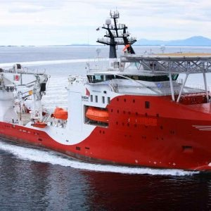 121 Meter ROV Support Vessel