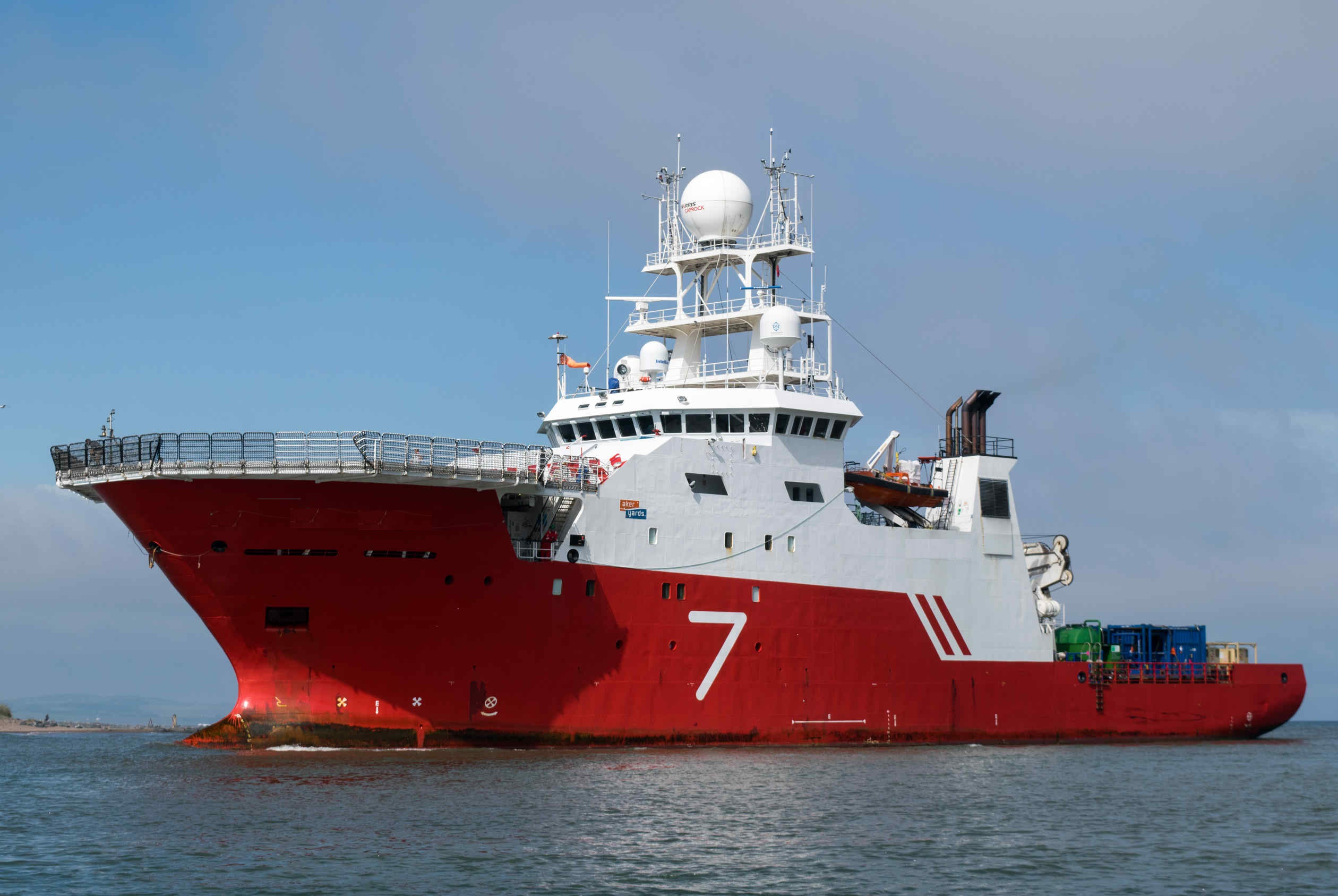 76 Meter Length ROV Support Vessel
