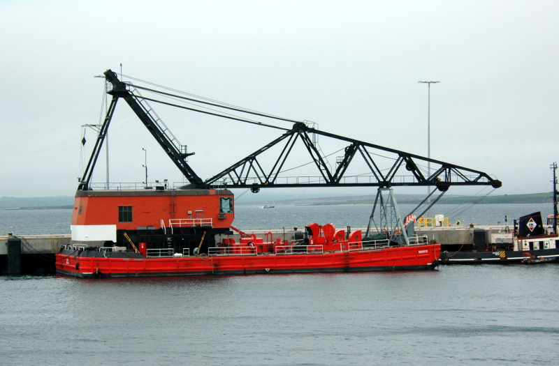 42 Meter Length Barge Vessel