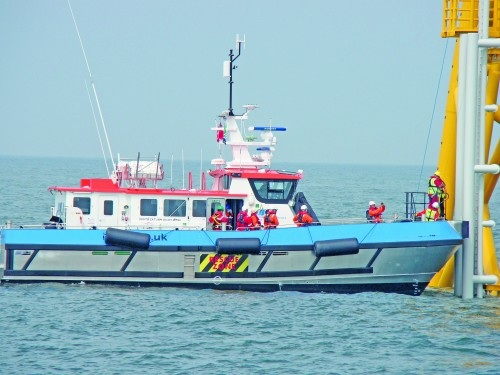 17 Meter Length Crew Transfer Vessel