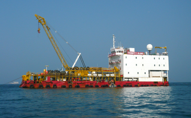 55 Meter  Length Barge  vessel