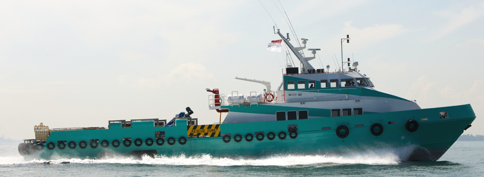 40 Meter Length  Multi-Role Support Vessel