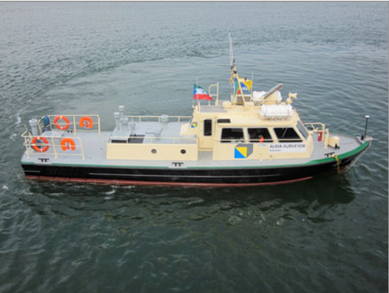 16 Meter Length Survey Vessel