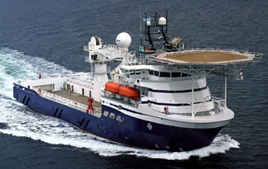 86 METER LENGTH  ROV & SUPPORT VESSELS