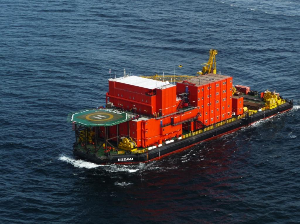 97 Meter Length Barge Vessel