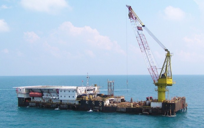 96 Meter Length Accommodation  Work Barge