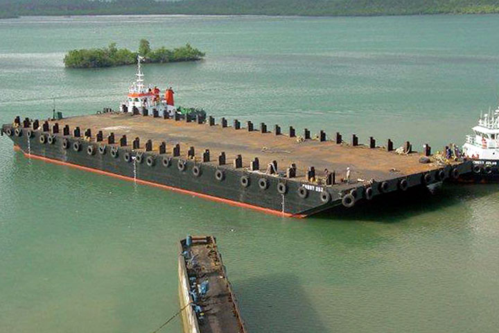 76 Meter Length Offshore Barges