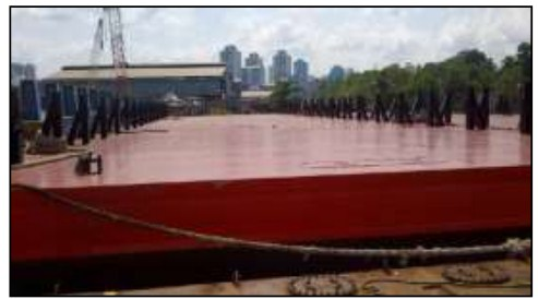 64 Meter Length Offshore Ballastable Work Barge