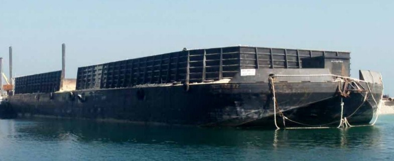 82 Meter Length Flat Top Barge
