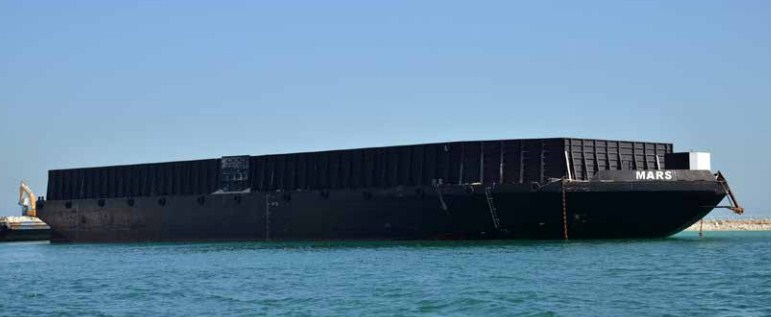 100 Meter Length Flat Top Barge