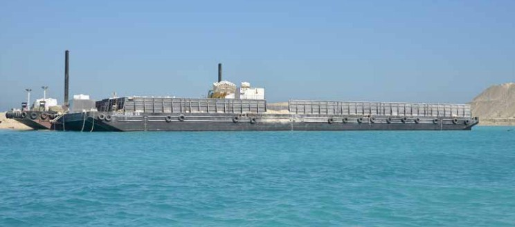 76 Meter Length  Flat Top Barge
