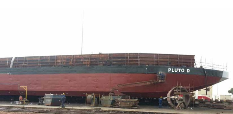 87 Meter Length Flat Top Cargo Barge