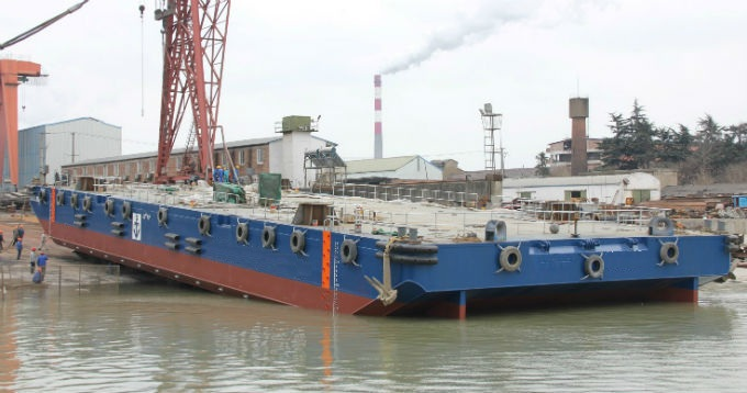 54 Meter Length Barges
