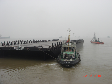 91 Meter Length Offshore Barges
