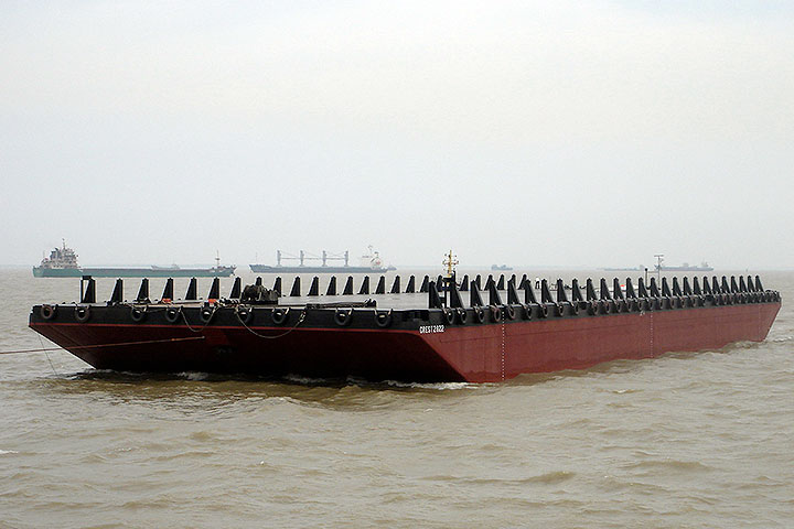 85 Meter Length Offshore Barges