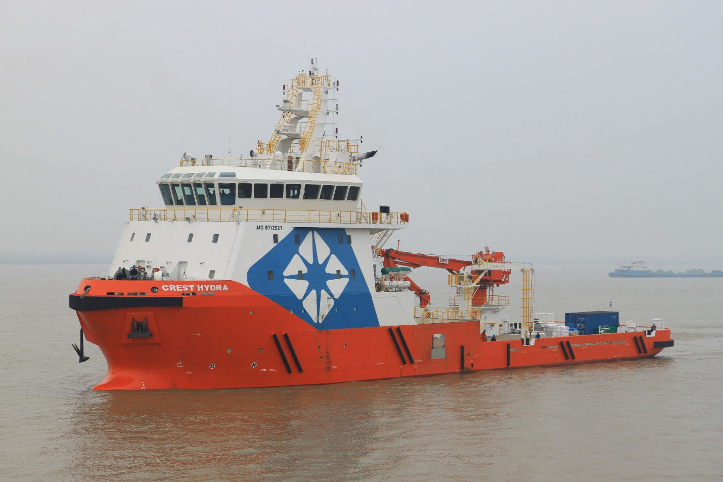 Crest Hydra ROV Support Vessel with 70 Meter Length