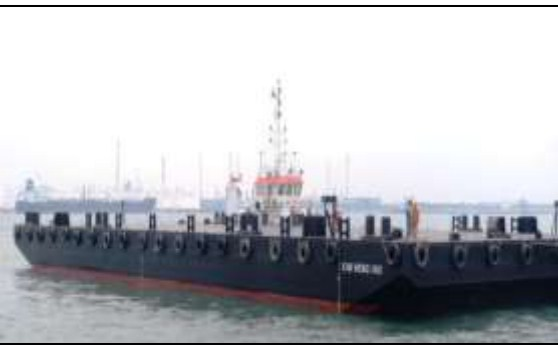 52 Meter Length Offshore Ballastable Work Barge