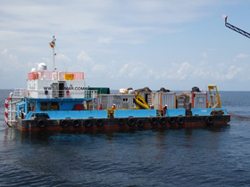 30 METER LENGTH OFFSHORE BARGE