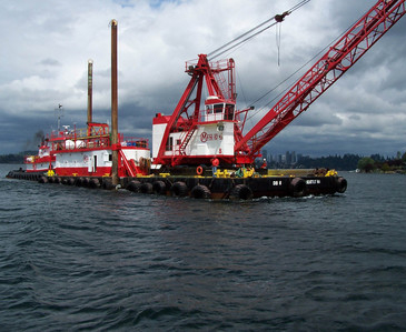 34 METER LENGTH BARGES / CLAMSHELL DREDGES