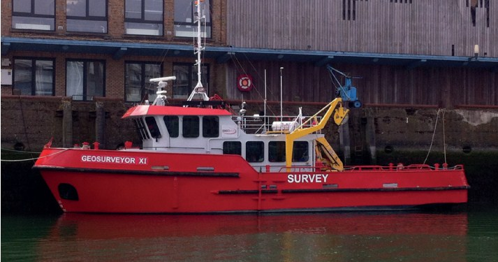 21 Meter Length Survey Vessel