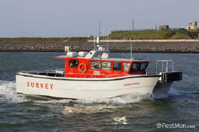 12 Meter Length Survey Vessel