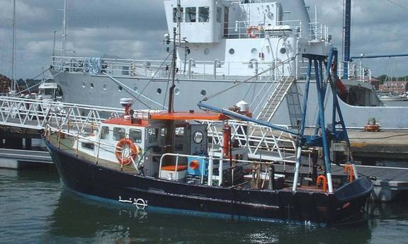 11 Meter Length  Survey Vessel