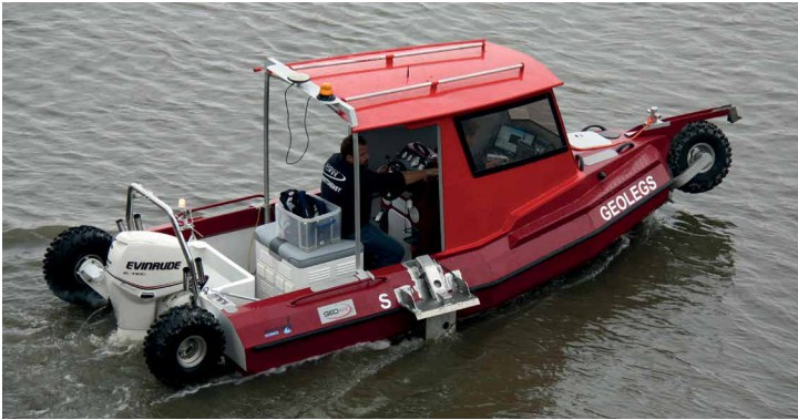 6 Meter Length Amphibious Survey Vessel