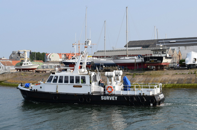 19 Meter Length Survey & Support Vessel