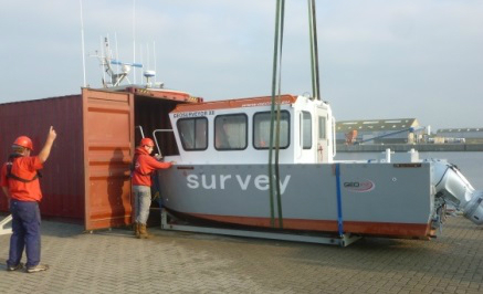 6 Meter Length Survey Vessel