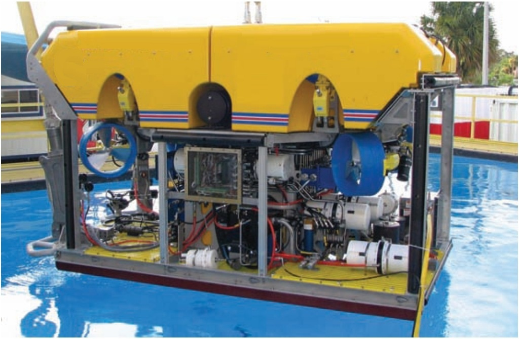 3.50 meters Length ROV vessel