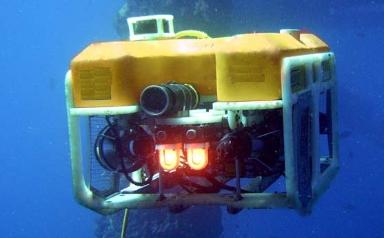 1.10 meters Length ROV vessel