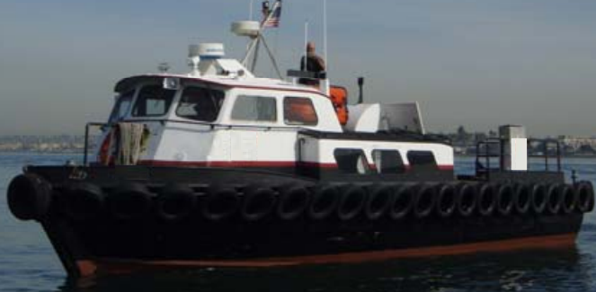 13.65 meters Length vessel