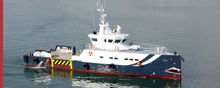 33 Meter Length Guard Vessel