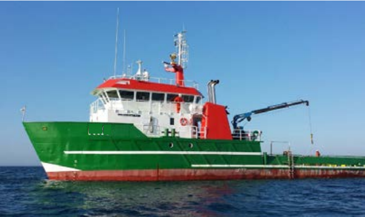 37 Meter Length Multipurpose Support Vessel