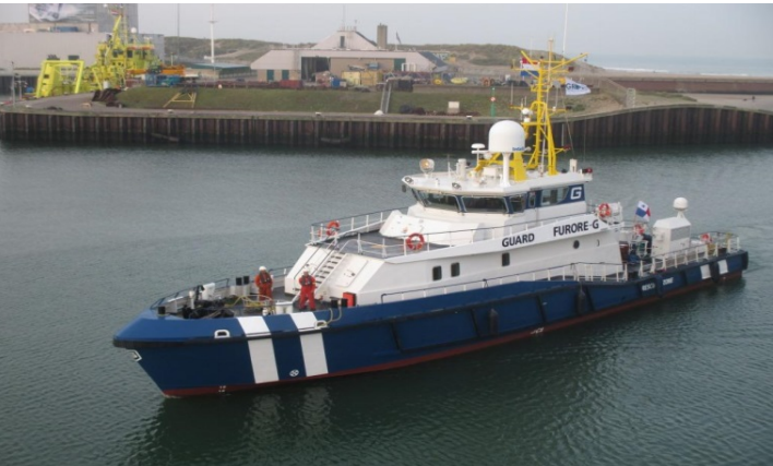 34 Meter Length support vessel