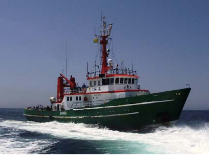 40 Meter Length Support Vessel