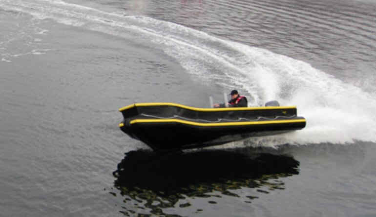 4 Meter Length Support Work Boat