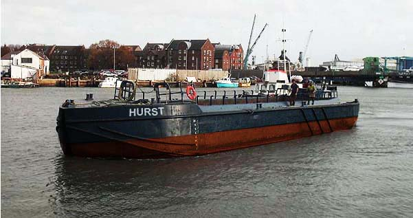 32 Meter Length  Barges
