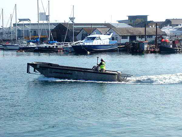 8 Meter Length Dive Support Boat