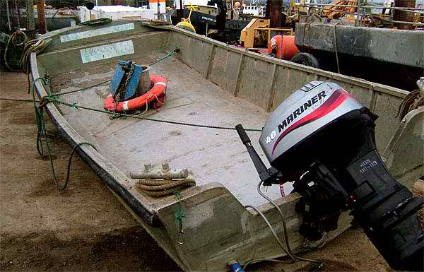 5 Meter Length Dive Support  Boat