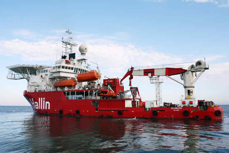 Dive Support Vessel
