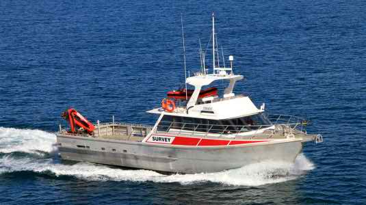 19 Meter Length Survey Vessel