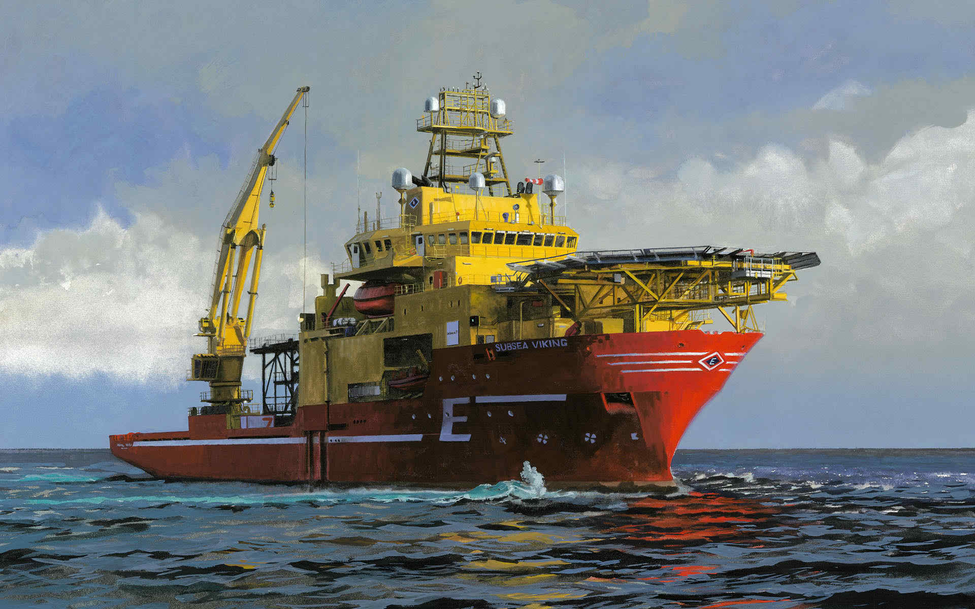 103 Meter Length ROV Support Vessel