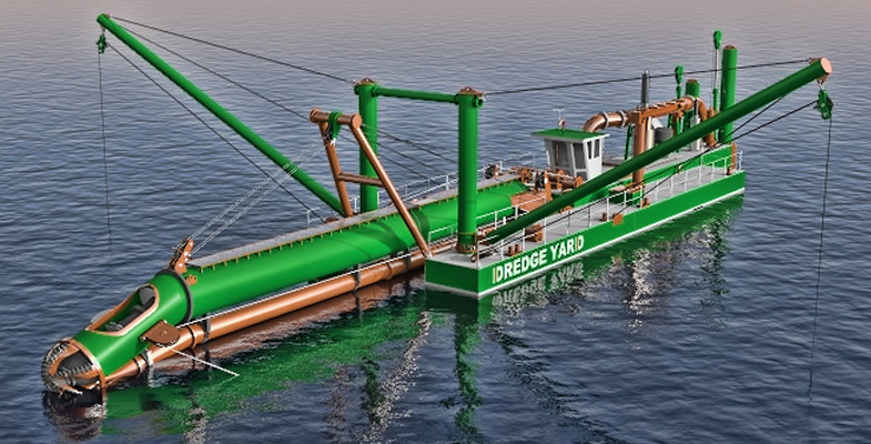25 Meter Length  Dredger