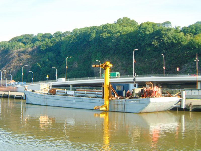 36 Meter Length Utility Barge