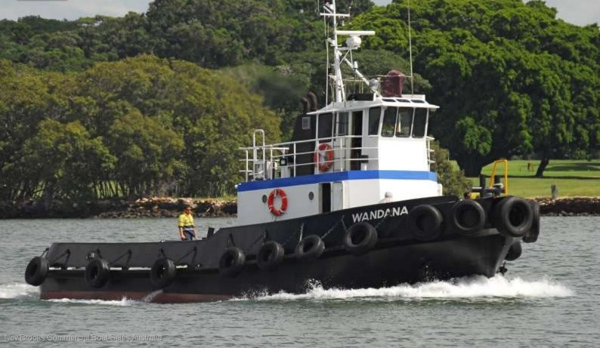 18 Vessel Length Tug Vessel