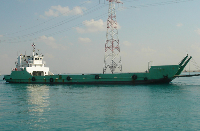 50 Meter Length Landing Craft Vessel