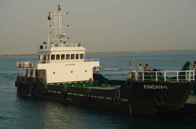 40 Meter Length Landing Craft Vessel