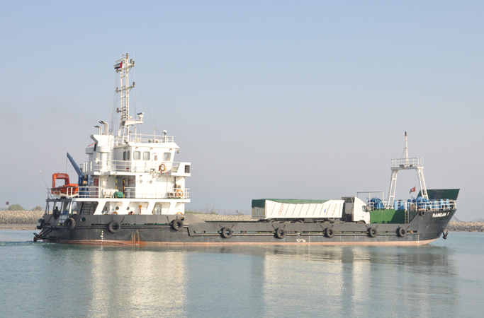 47 Meter Length  Landing Craft Vessel